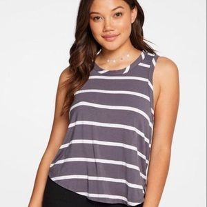 Chaser ~ Striped tank top